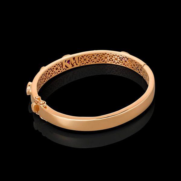 Amaranthine Geometry Bracelet