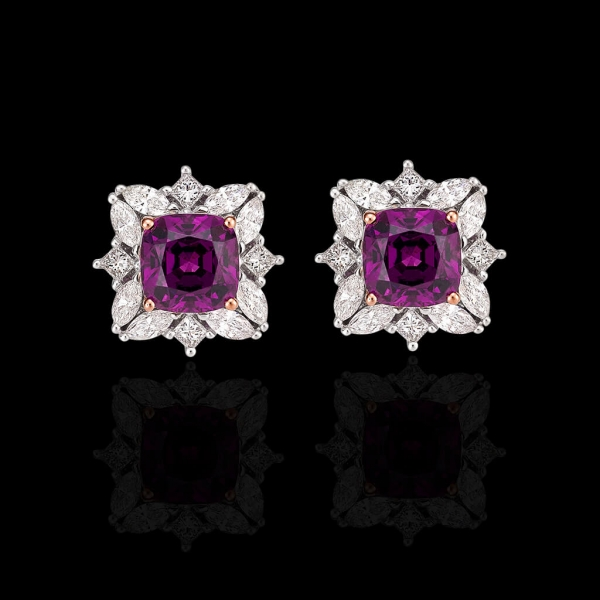 Temple Flower Earrings