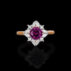 Temple Flower Ring