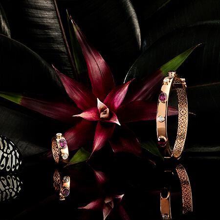 AMARANTHINEGEOMETRY  Limited edition of 5, Ring and BraceletShop Now